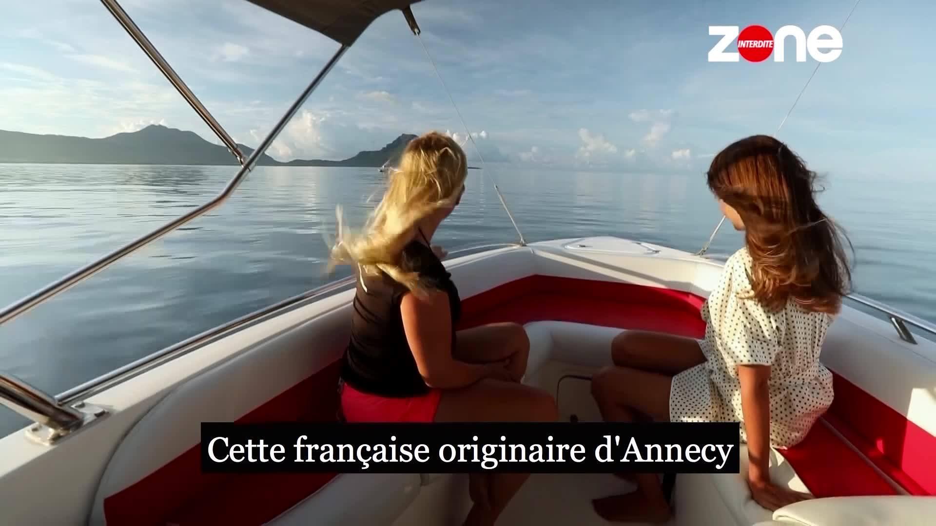 Ophélie Meunier à l'Île Maurice