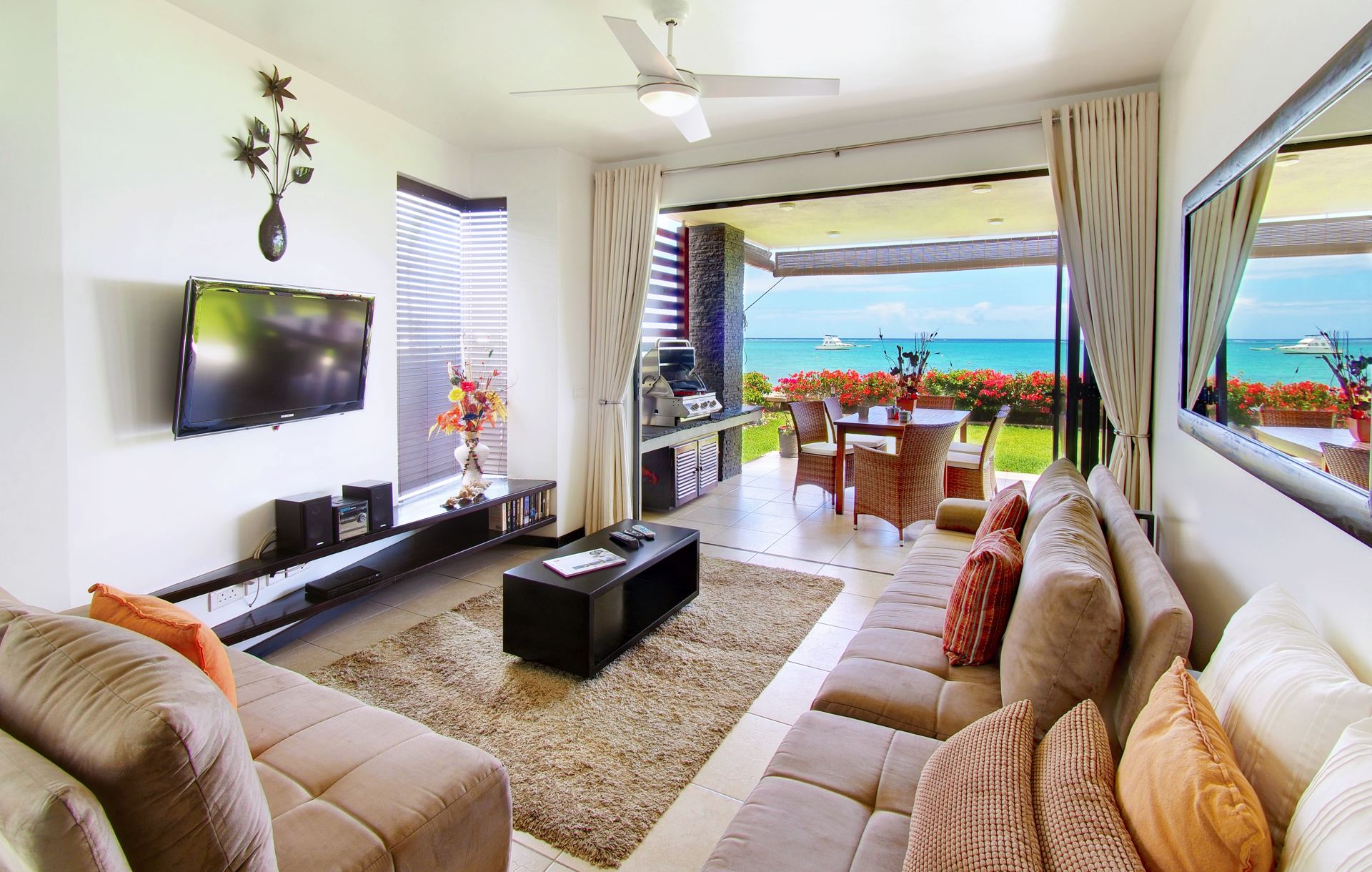 Lov. Le Cerisier Beach Apartments & Penthouses - Kitchen and.jpg