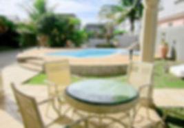 Flic en Flac - Grande Maison avec piscine pouvant loger 16 personnes. A 200 m de la plage