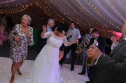 Heba and Sam Party bride