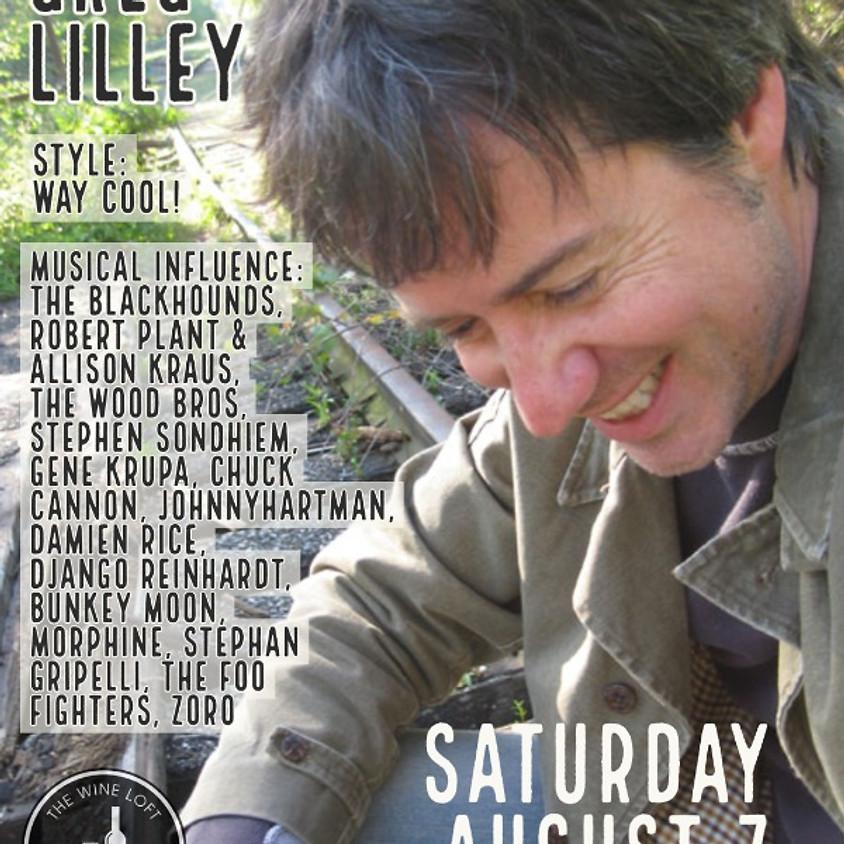 Greg Lilley Saturday August 7