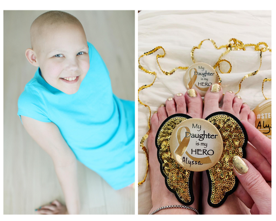Go Gold — Childhood Cancer Awareness Month