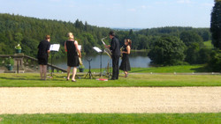 A wedding with a view..