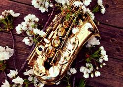 Wedding saxophone