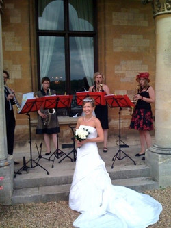 Mr & Mrs Herbert's wedding