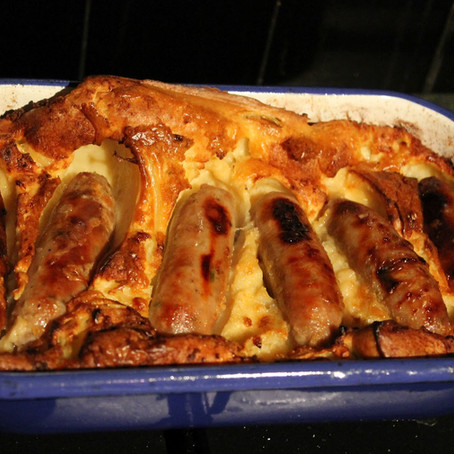Toad in the hole - full proof Yorkshire pudding recipe