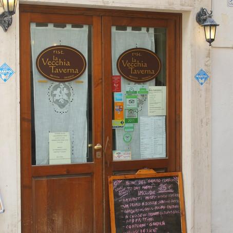 Puglia and Pulia: La Vechhia Taverna (Monopoli)