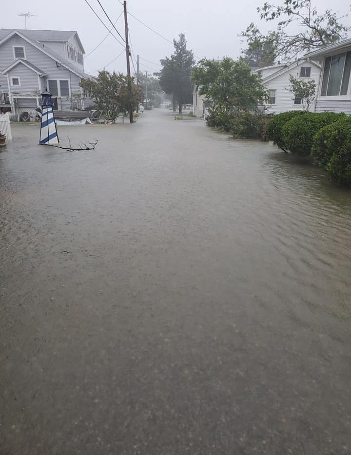 Flooding - Beach Dr. & Ridge Rd.