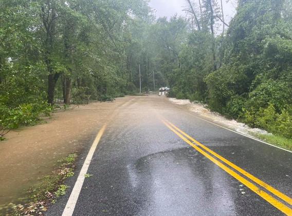 Plum Point Road flooding