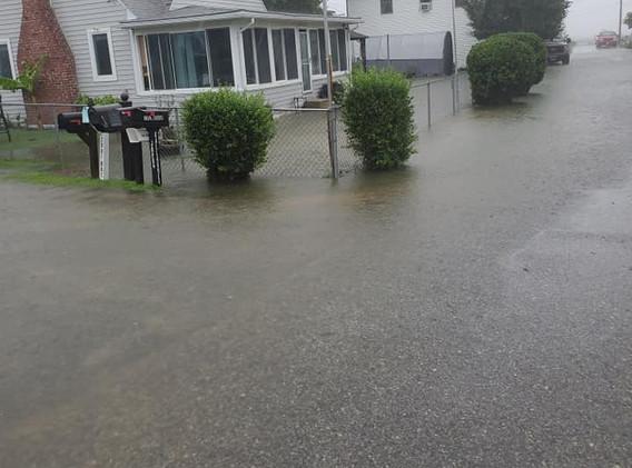 Flooding - Beach Dr.