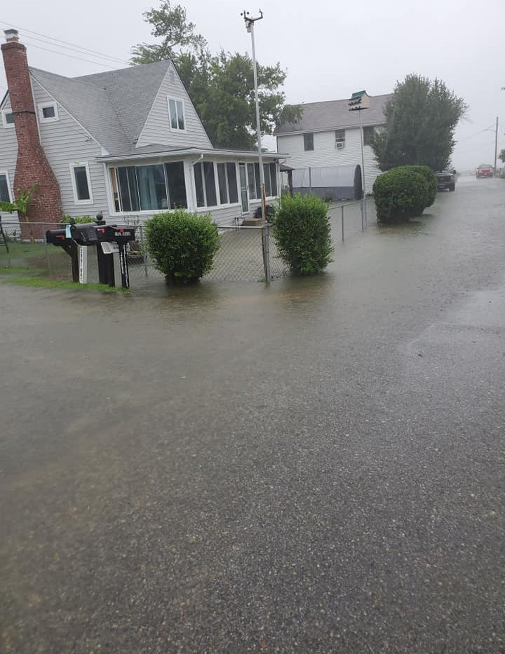 Flooding - Beach Dr.
