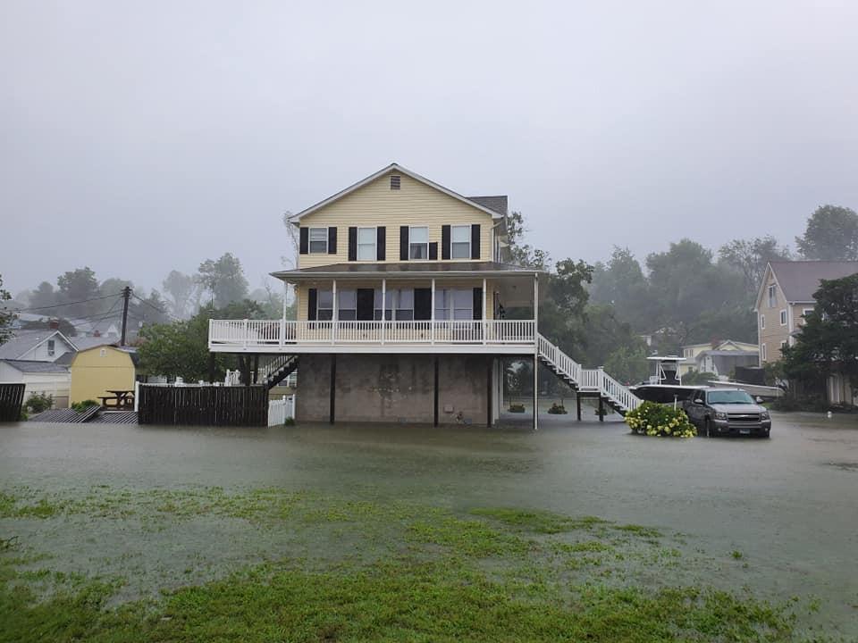 flooding - Shore Dr.