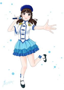 ゆきちゃんアイドル衣装2000px