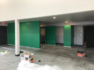 Gear is in! Color on the walls!