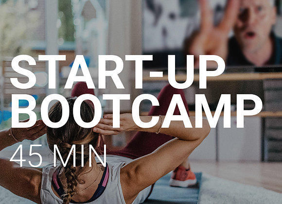 START-UP  BOOTCAMP  - 45MIN. HIIT WORKOUT 04.06, 17:00Uhr