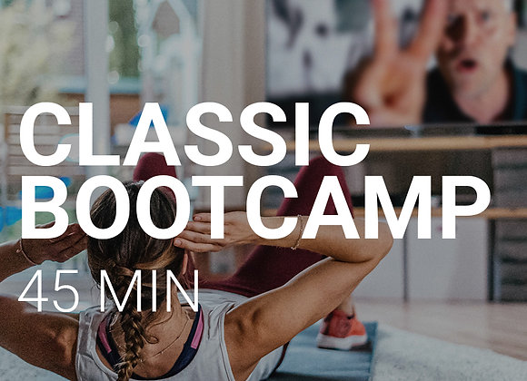 CLASSIC BOOTCAMP - 45MIN. FULL BODY HIIT WORKOUT 05.06, 17:30Uhr