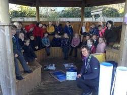 barn owl recycling workshop