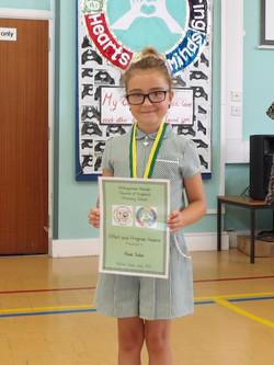 Effort and Progress Award