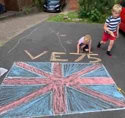 Theo's Chalk Art