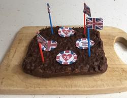 Isla's VE Day Cake