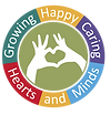 Growing Happy Caring Hearts and Minds Logo