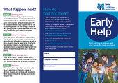 Early Help Leaflet uploaded to web Jan 2