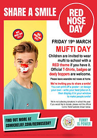 share a joke red nose day 2021 poster ve