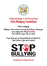 Anti Bullying leaflet Children's Card_Pa
