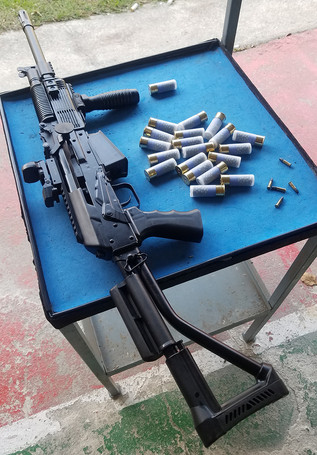 Russian 12GA shotgun!!ロシアの散弾銃を撃ったら翌日肩が青くなったというブログですw