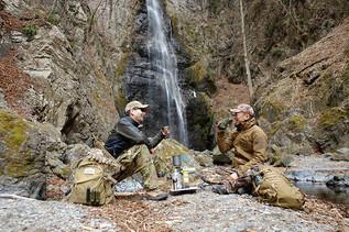 雑誌MFL掲載企画!軍物アパレルで滝を見に行ってコーヒーを淹れよう! その③