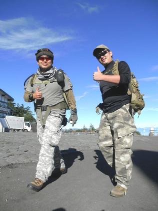 ミリタリー富士登山 その2