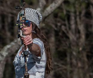 Compound Bow Archery Practice