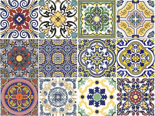 Mix De Azulejo Português Vila Sintra