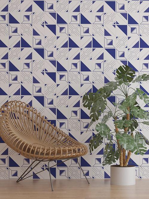 Azulejo Geométrico Vila Sintra - Mix 02