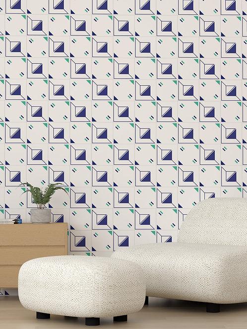 Azulejo Geométrico - Mix Acrópolis e Ceos