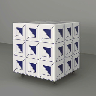banco em azulejo acropolis
