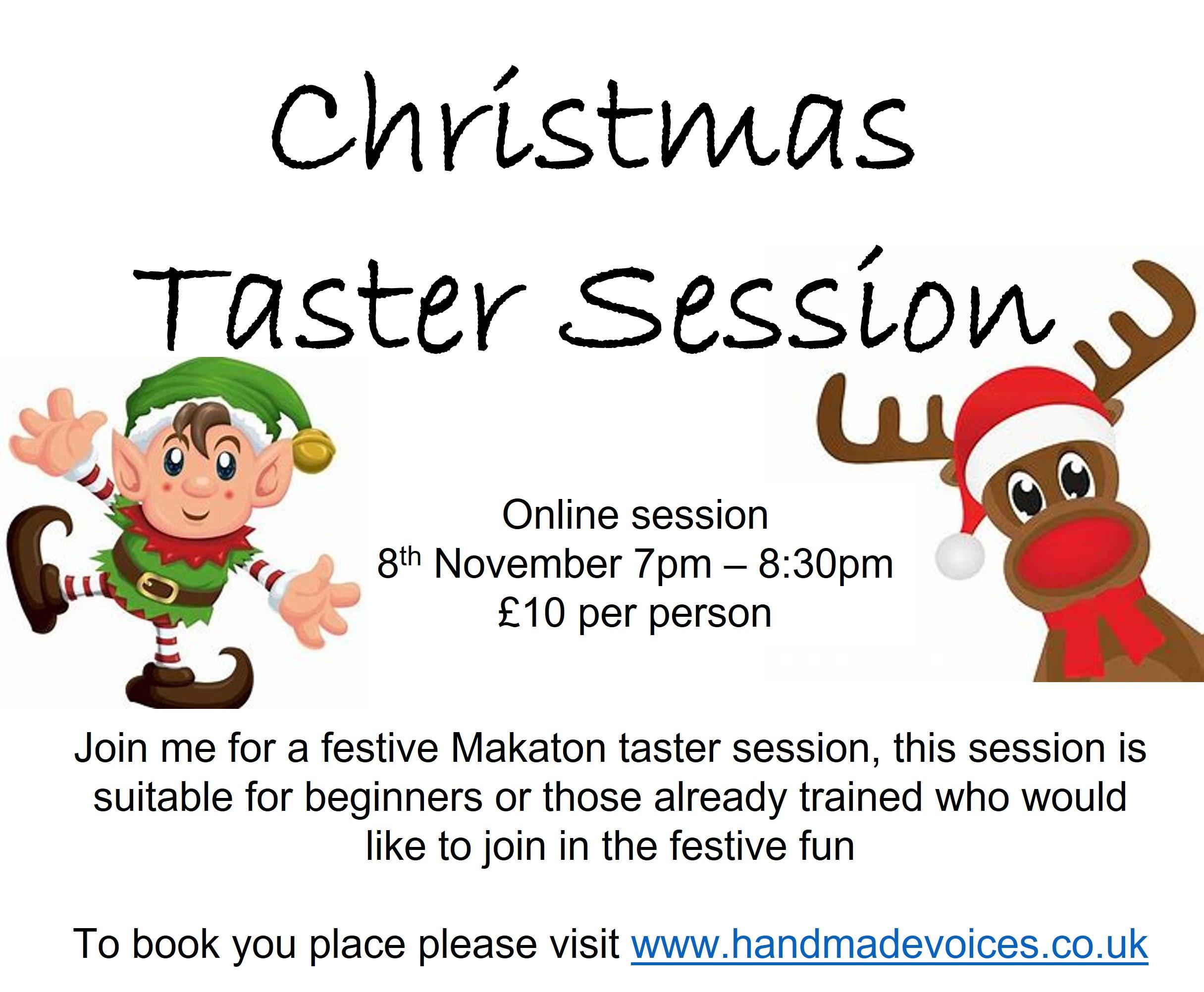 Christmas Taster Session