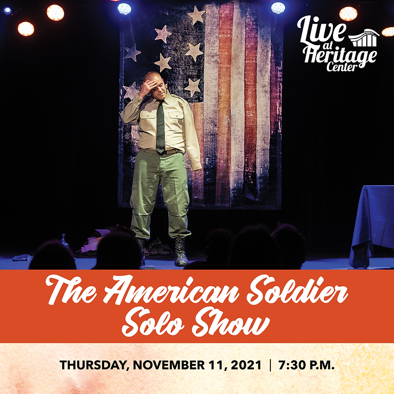 American Soldier Solo Show