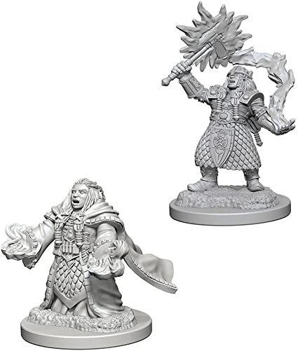 D&D Figurines DWARF CLERIC