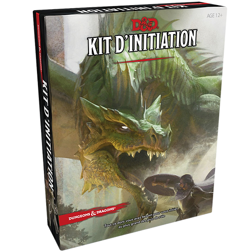 D&D : Kit D'initiation DD5 (Français)