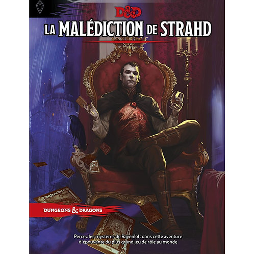 D&D LA MALEDICTION DE STRAHD