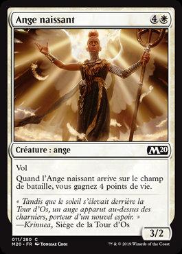 Blanche - Ange naissant (M20)