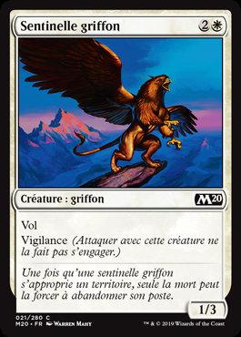 Blanche - Sentinelle griffon (M20)