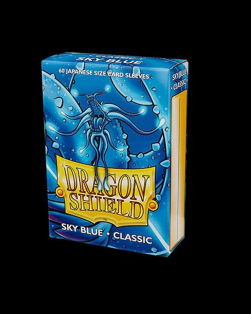 Dragon Shield-format japonais 60 sleeves : SKY BLUE CLASSIC
