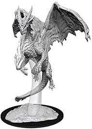 FIGURINE D&D : YOUNG RED DRAGON