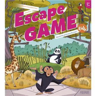 Escape Game Kids : Sauve Les Animaux Du Zoo