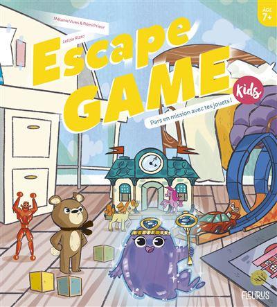 Escape Game Kids : Pars En Mission Avec Tes Jouets !