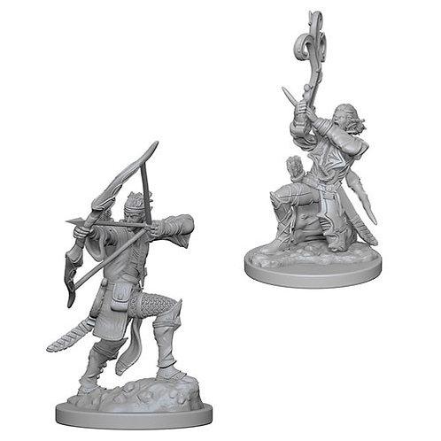 D&D Figurines ELF BARD
