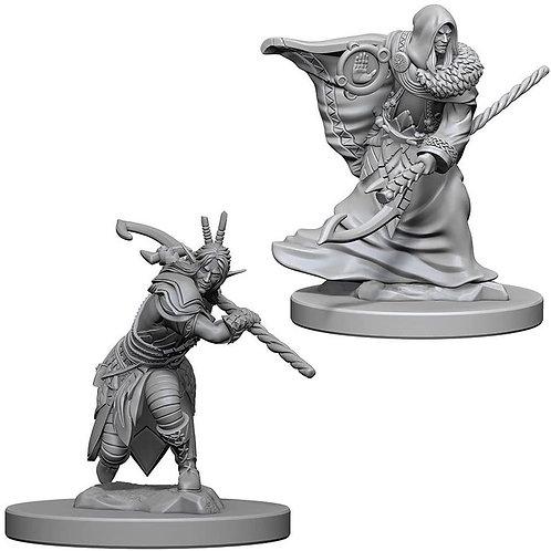 D&D Figurines ELF DRUID