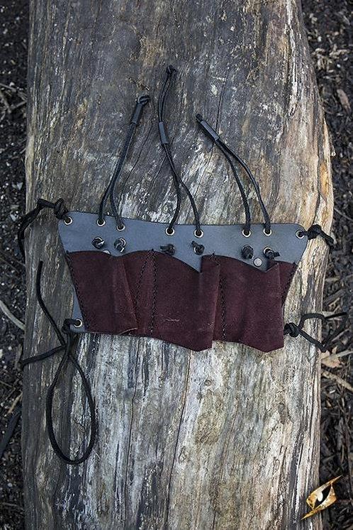Porte-couteaux (3) noir/marron